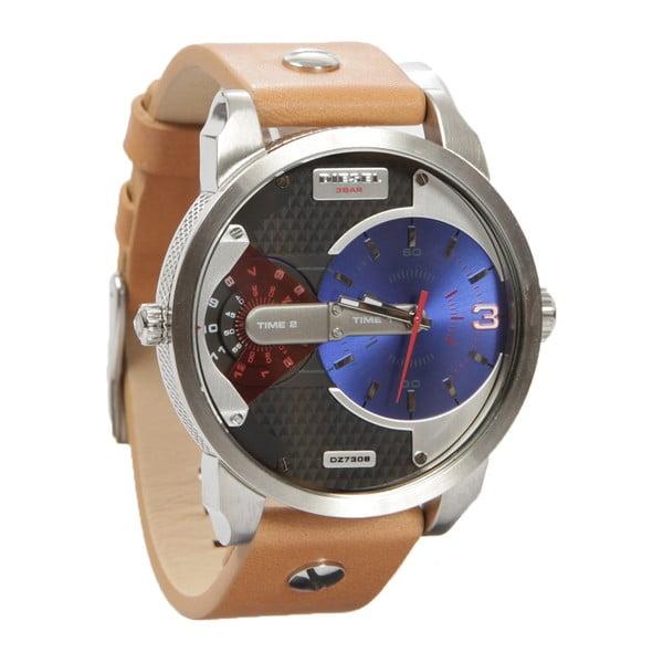 Pánske hodinky Diesel s koženým remienkom Dimitri
