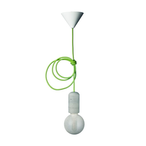 Zelené svietidlo od Jakuba Velínského, 1,2 m