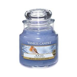 Vonná sviečka Yankee Candle Cencúle, doba horenia 25 - 40 hodín