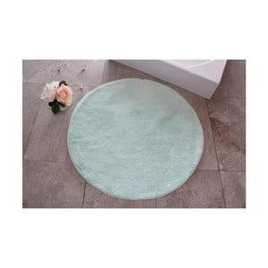 Zelená kúpeľňová predložka Confetti Bathmats Colors of Mint, ⌀90 cm