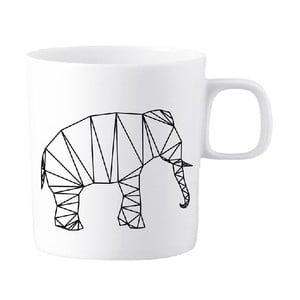 Porcelánový hrnček We Love Home Origami Elephant
