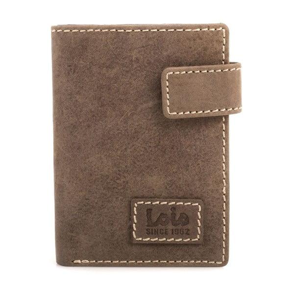 Kožená peňaženka Lois Brown, 8,5x10,5 cm
