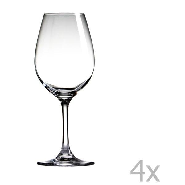 Sada 4 pohárov Sola Sauvignon, 430 ml