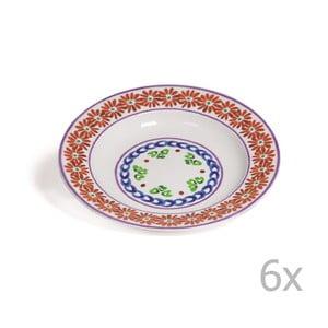 Sada 6 polievkových tanierov Toscana Cortona, 22.5 cm