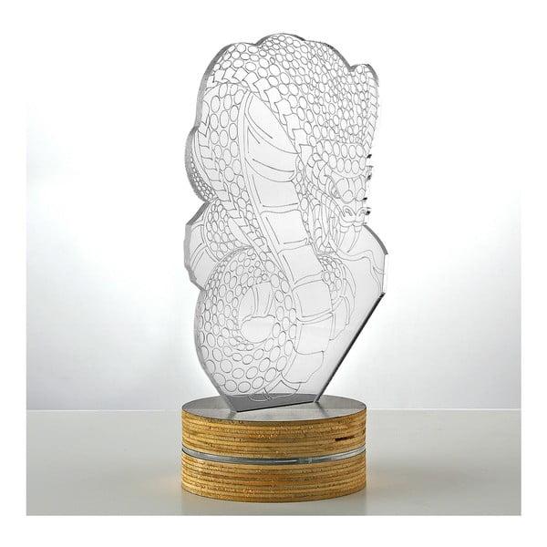 3D stolová lampa Snake
