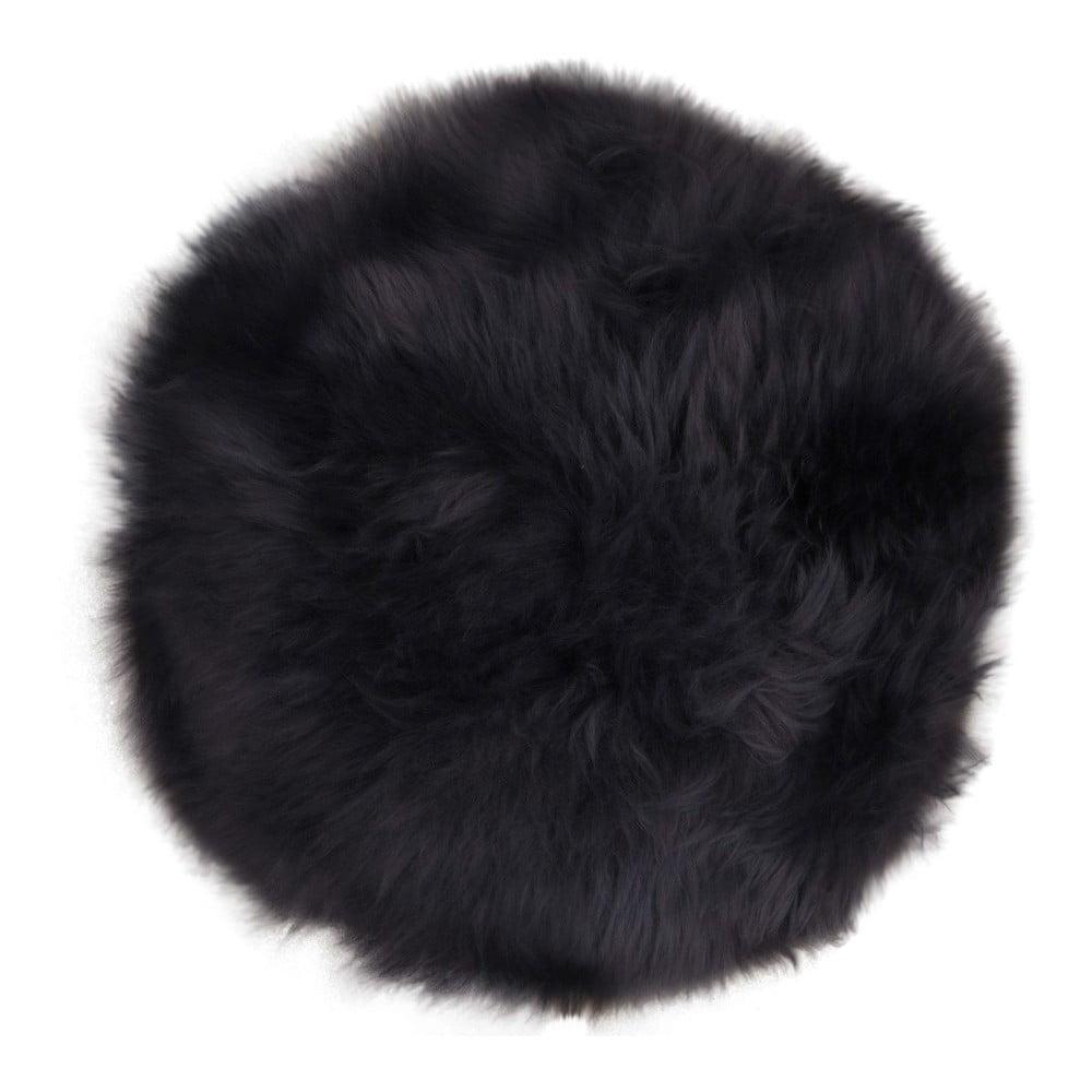 Tmavosivá ovčia kožušina House Nordic Circle, 35 cm