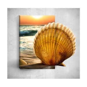 Nástenný 3D obraz Mosticx Seashell, 40×60 cm