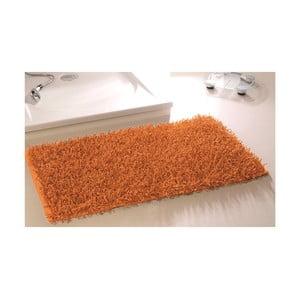 Kúpeľňová predložka Metallic Look Orange, 50x70 cm