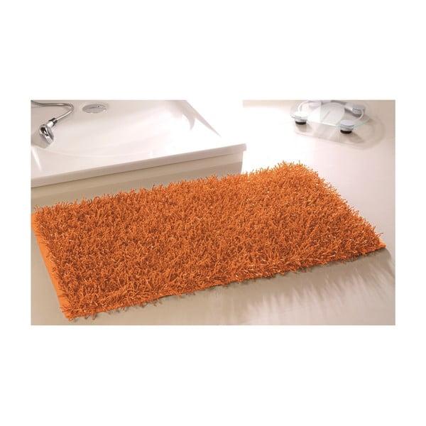 Kúpeľňová predložka Metallic Look Orange, 60x100 cm
