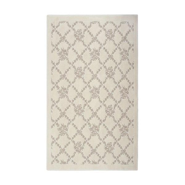 Krémový bavlnený koberec Floorist Mira, 120x180cm