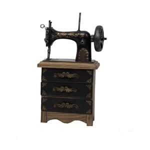 Dekorácia šijací stroj Antic Line