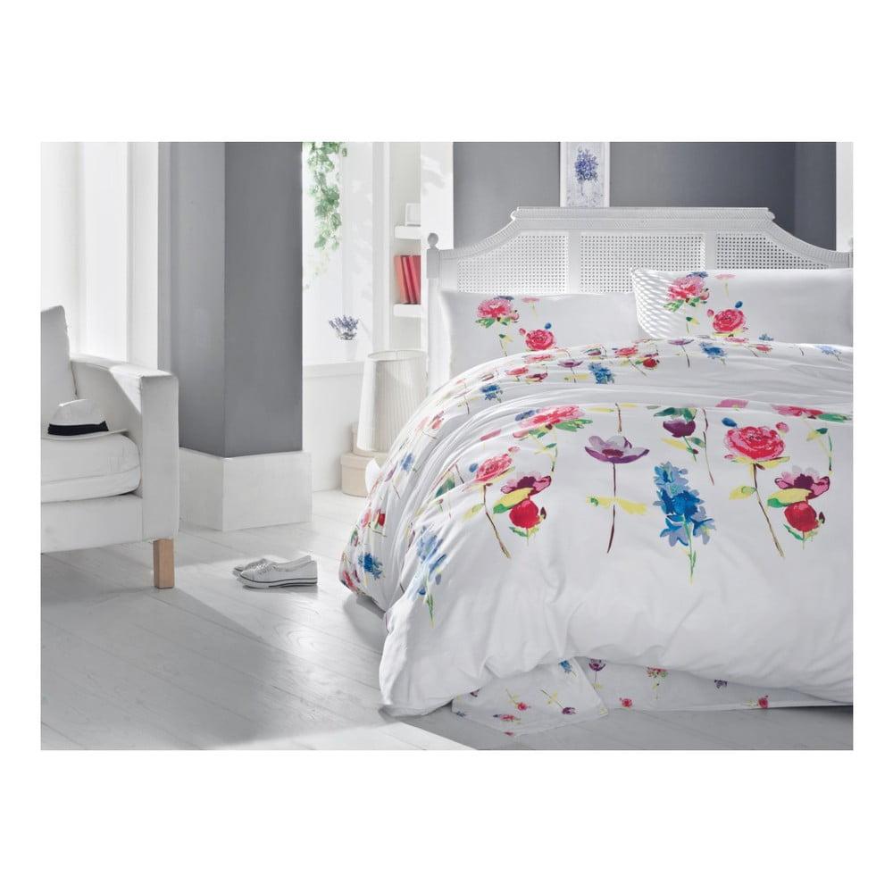 Obliečky s plachtou na jednolôžko Spring, 160 × 220 cm