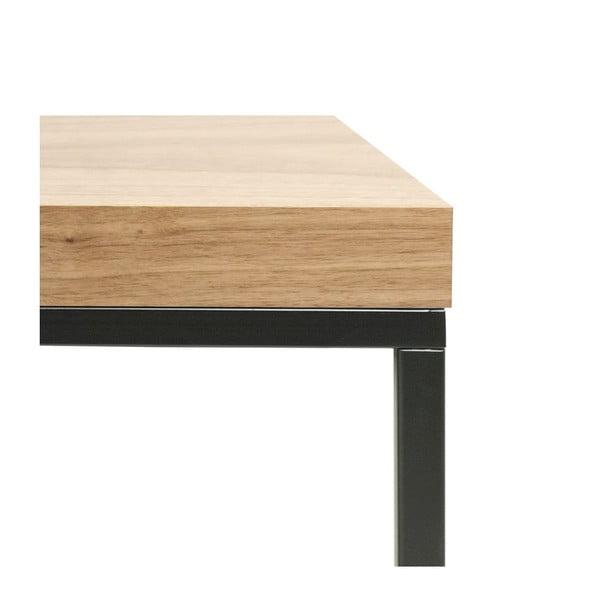 Konferenčný stolík v dekore orechového dreva TemaHome Prairie