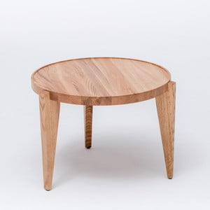 Dubový kávový stolík Bontri, 60x44 cm