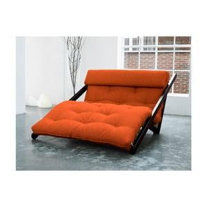 Leňoška Karup Figo, Wenge/Orange, 120 cm