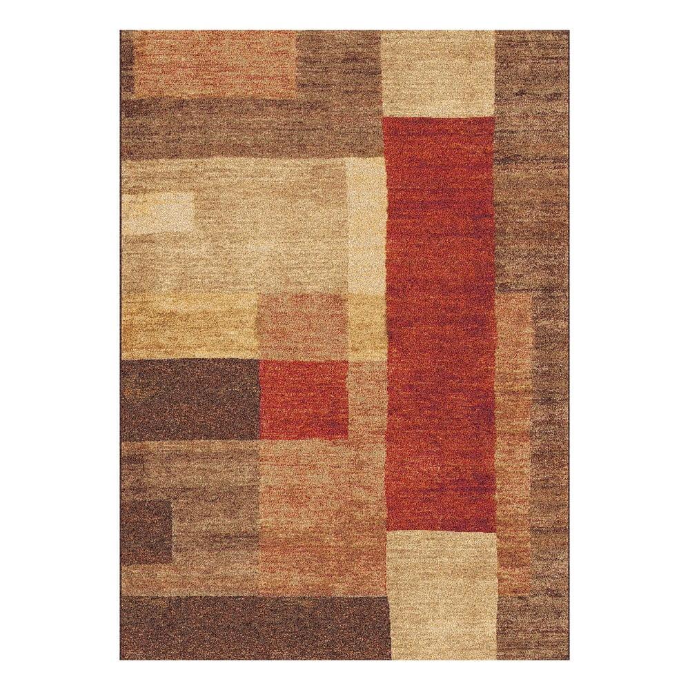 Hnedý koberec Universal Delta, 300 x 67 cm