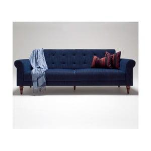 Modrá rozkládací pohovka Balcab Home Gina
