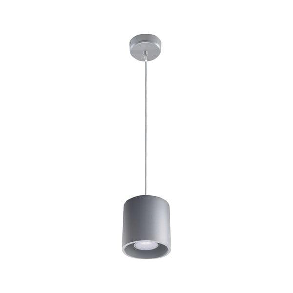 Sivé závesné svetlo Nice Lamps Roda 1