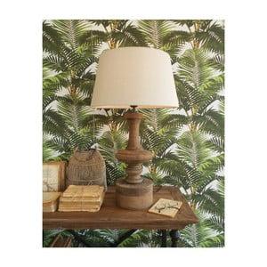 Stolná lampa z mangového dreva Orchidea Milano Alessandro, ⌀ 45 cm