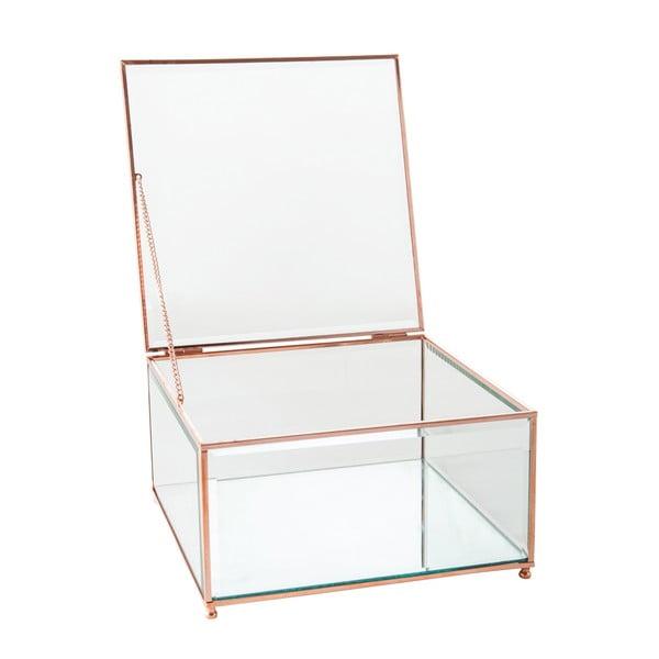 Šperkovnica Jewel Glass, 23x23 cm