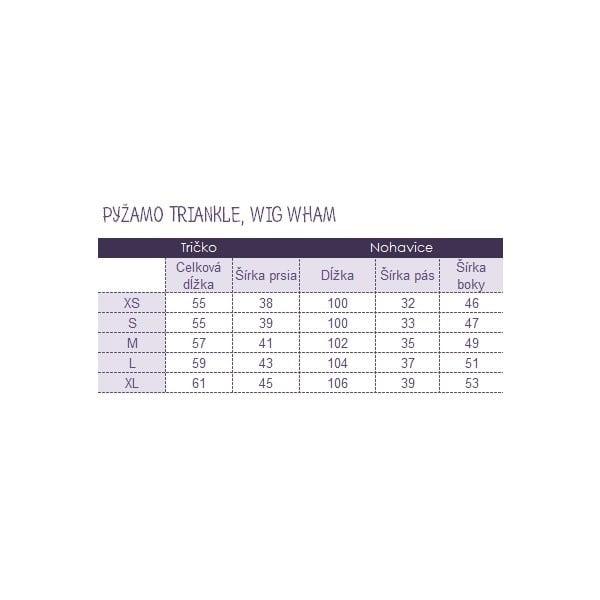 Pyžamo Wig Wham, veľkosť M