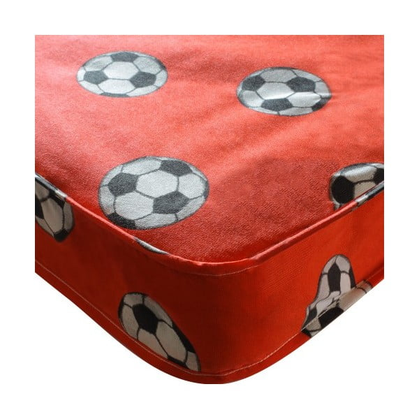 Detský matrac Football Single Red, 190x90x15 cm