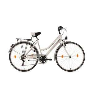 Dámsky bicykel City Bike Encanto White, 28""