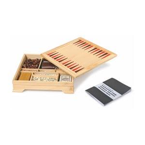Box so spoločenskými hrami Legler Playtime