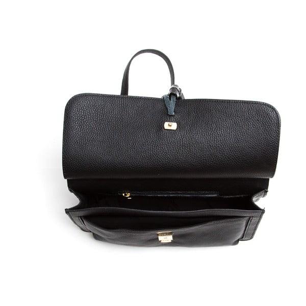 Kožená kabelka Isabella Rhea 1154, čierna