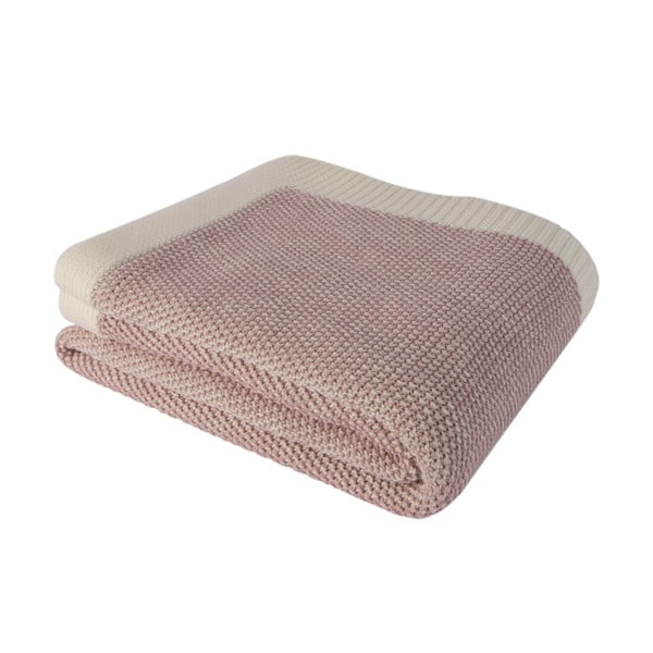 Ružová bavlnená deka Homemania Clen