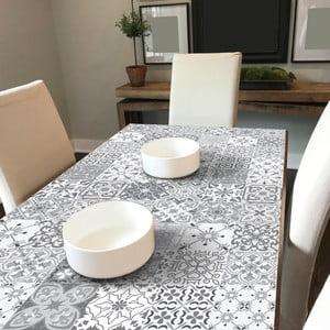Sada 60 samolepiek na nábytok Ambiance Tiles Stickers For Furniture Virginio, 15×15 cm