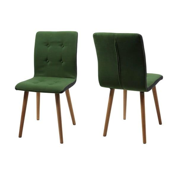 Jedálenská stolička Frida, zelená