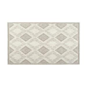Bavlnený koberec Fara 80x300 cm, krémový