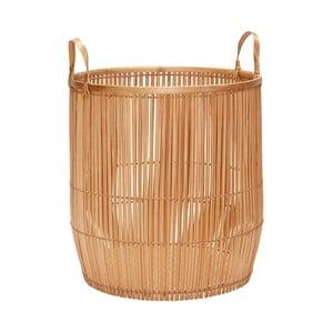 Bambusový kôš Hübsch Siv