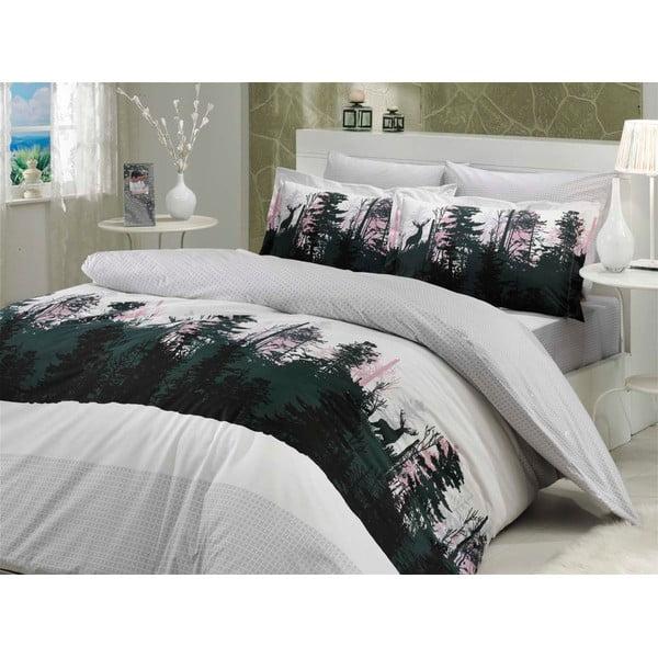 Obliečky s plachtou Tierra Grey, 200x220 cm