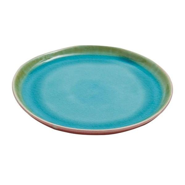 Keramický talíř Prego Plain Azur, 20 cm
