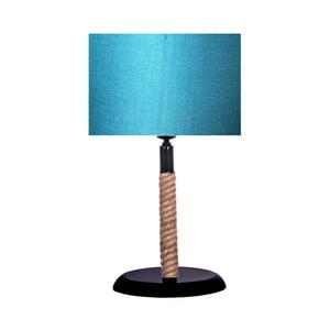 Stolová lampa s tyrkysovým tienidlom lampa Kate Louise Rope