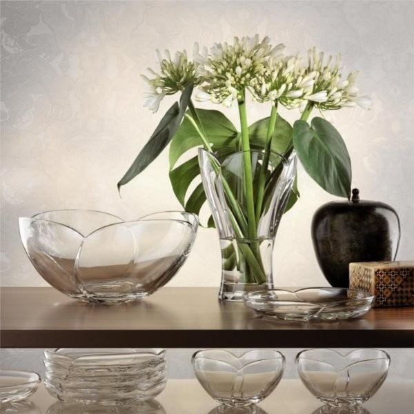 Váza z krištáľového skla Nachtmann Calypso, priemer 27 cm