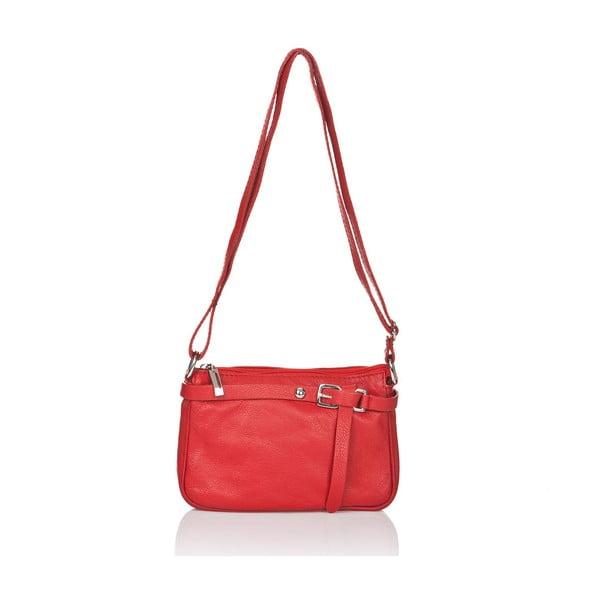 Kožená kabelka Markese 5161 Red