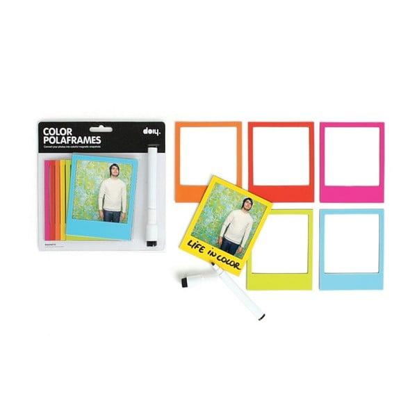 Magnetické rámčeky Polaroid Color