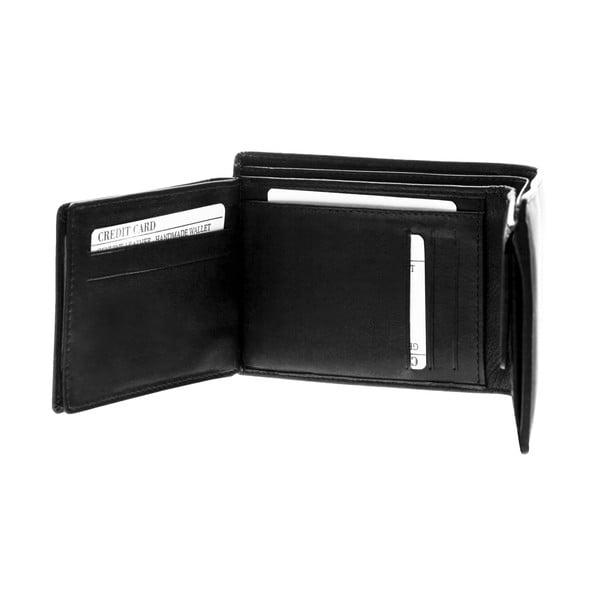 Kožená peňaženka Continuum 1505, dvojité prešívanie