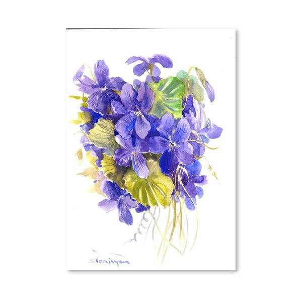 Plagát Violets od Suren Nersisyan