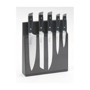 Sada 5 nožov s magnetickým blokom Jean Dubost Massif