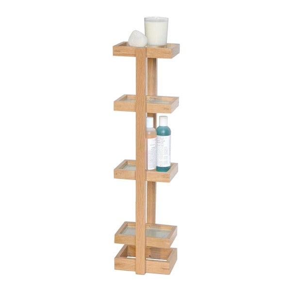 Drevený stojan do kúpeľne Wireworks Caddy Mezza, výška 73cm