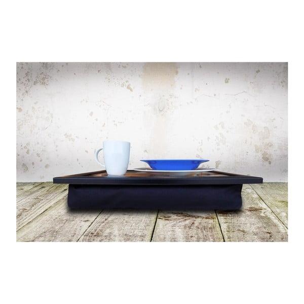 Servírovací podnos s vankúšom na spodnej strane Coffee, 36 × 46 cm