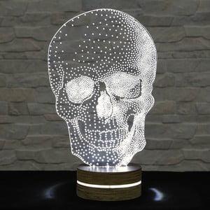 3D stolová lampa Skull Classic