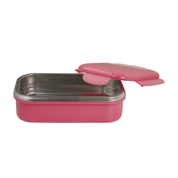 Ružová termoizolačná miska na obed Pioneer Lunchbox