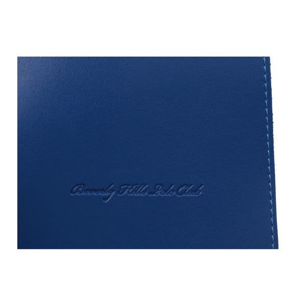 Modrá kabelka z eko kože Beverly Hills Polo Club Sylvia