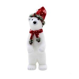 Dekorácia Polar Bear, 45 cm