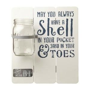 Dekorácia na stenu s pohárom Heaven Sends Shell